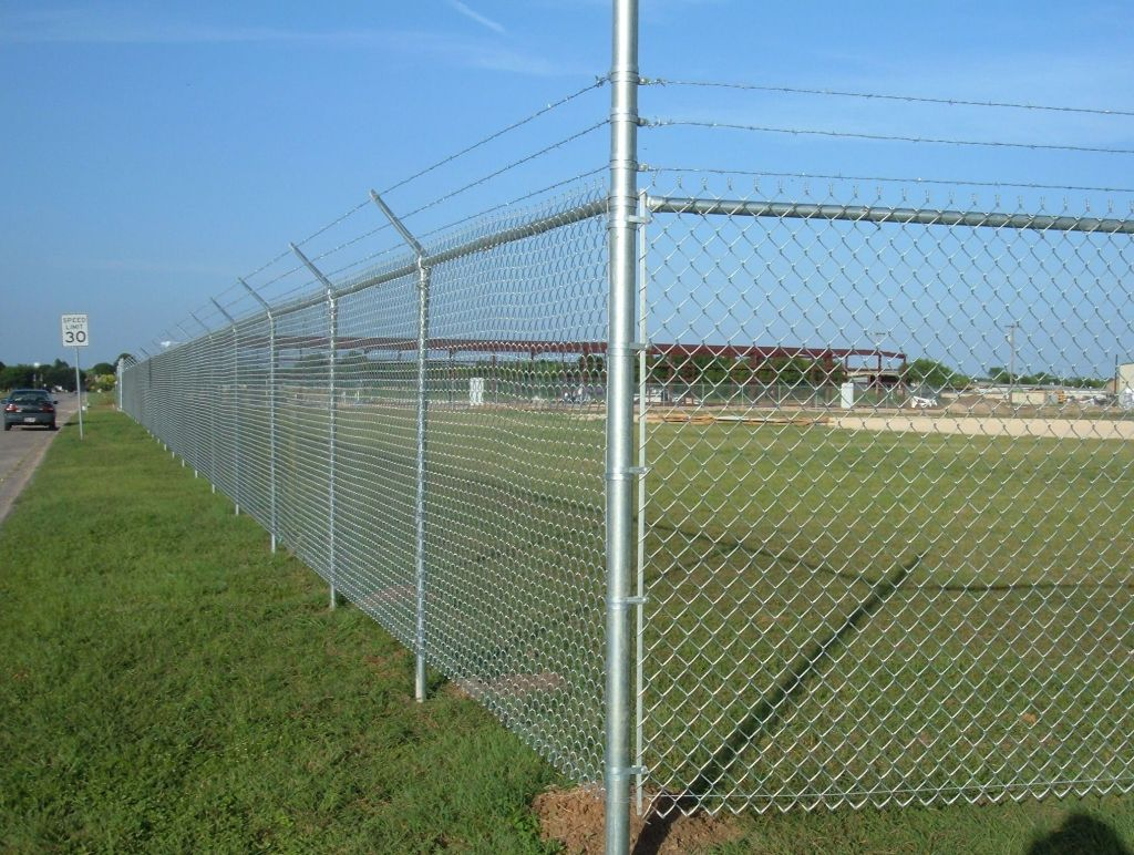 Chain link fence fiberglass screening